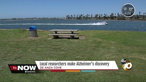 Local researchers make Alzheimer's discovery