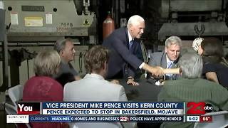 Vice President Mike Pence in Bakersfield - Video
