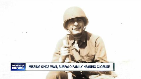 Missing since WWII, Buffalo family nearing closure