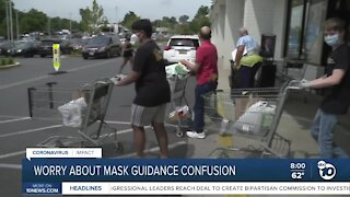 New CDC mask guidelines are causing confusion