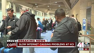Slow internet causing problems at KCI
