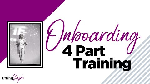 ONBOARDING // 4 Part Training Video: How to Onboard your Monat Team