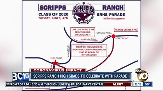 Scripps Ranch High graduates to celebrate with parade