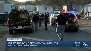 How traumatic events impact the mental health of first responders