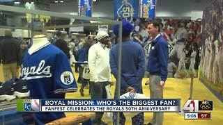 Royals fans flock to downtown KC for FanFest - Video