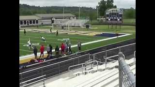 Man Scores Goal From Center Field - Video