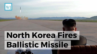 North Korea Fires Ballistic Missile - Video