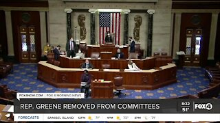 Representative Greene removed from Committees