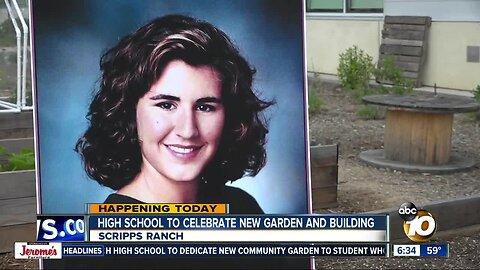 Scripps Ranch High to dedicate new garden, building to student