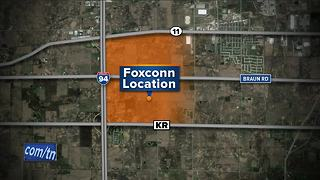 Foxconn announces new plant site - Video