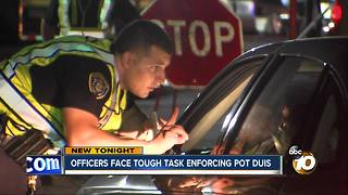 Officers face tough task enforcing Pot DUIs - Video