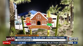 Cowabunga Bay turns into Christmas Town