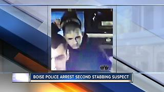 Boise Police arrest second suspect in early morning stabbing - Video