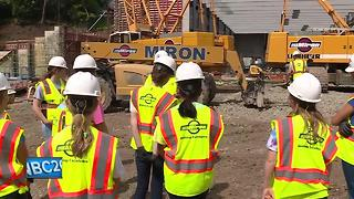 Teens 'Build Like a Girl' to learn more about construction industry - Video