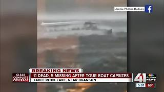 Video shows moments before fatal boat incident on Table Rock Lake - Video
