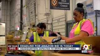 Cincinnati submits bid for Amazon's HQ2
