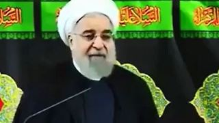 Hassan Rouhani in Ashura 2016 - Video