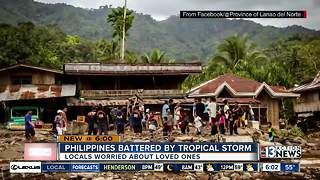 Local worried about family, friends in Philippines - Video
