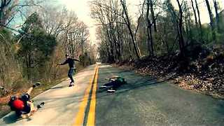 Long-board epic fail! || Viral Video UK - Video