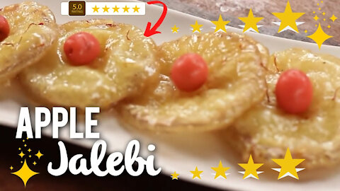 Apple Jalebi - A Fun and Easy To Make Dessert