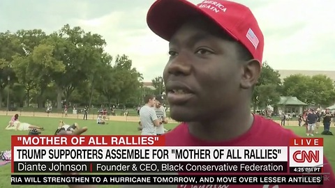 Watch Trump Supporter Give CNN Lesson In White Guilt False Narrative