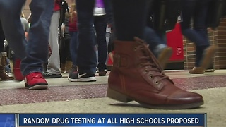 Wisconsin lawmaker to propose drug testing for high school - Video
