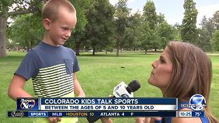 Colorado kids talk sports - Rockies Edition - Video