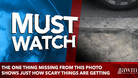 The One Thing Missing From This Photo Shows Just How Scary Things Are Getting