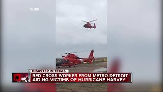 Metro Detroiters helping victims of Harvey - Video