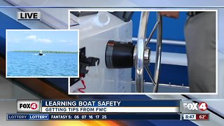 Boating Safety tips from FWC