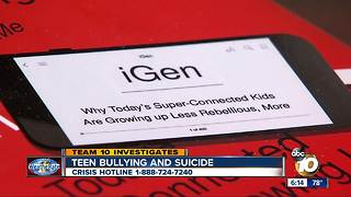 Teen bullying and suicide - Video
