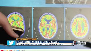 Las Vegas researchers pushing ground-breaking Alzheimer's research forward - Video