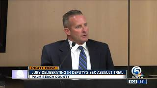Deliberations underway in PBSO deputy sexual assault case - Video