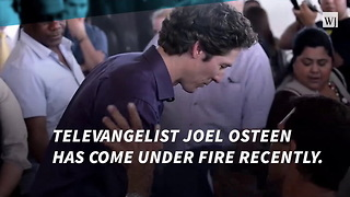 Joel Osteen Called Out Over Twitter - Video