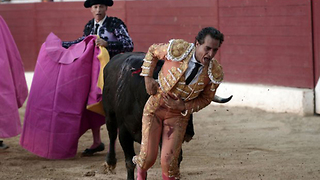 Bullfighter Gored to Death After Tripping on His Cape - Video