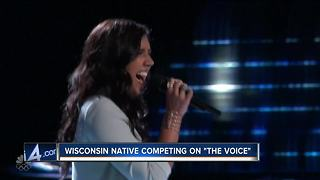 Wisconsin native Hannah Mrozak competes on