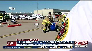 Tulsa airport to hold disaster response drill