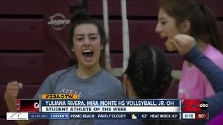 Female Athlete of the Week: Yuliana Rivera - Video