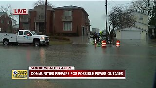 Waters continue to rise on some metro Detroit roads