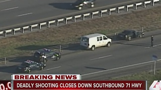 Deadly shooting closes SB 71 Highway - Video