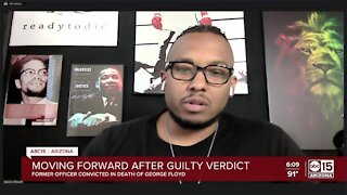 Valley Pastor Warren Stewart, Jr. reacts to Chavin guilty verdict