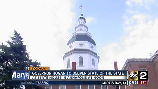 Gov. Hogan to deliver State of the State address - Video