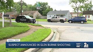 Suspect announced in Glen Burnie shooting