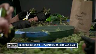 Florida nursing home denies use of medical marijuana by chronic pain patient - Video