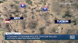 Tohono O'Odham police officer killed
