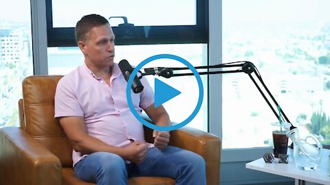 """Our Institutions are Now Pathological or Sociopathic - Needing """"Reset"""" – Peter Thiel 