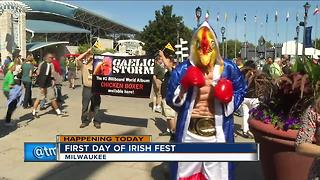Irish Fest kicks off Thursday - Video