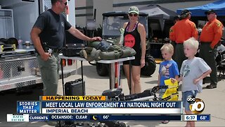 National Night Out events being held across San Diego County