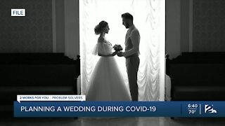 Experts give advice when planning wedding through COVID-19