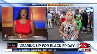 Bakersfield gears up for Black Friday on Thanksgiving night - Video